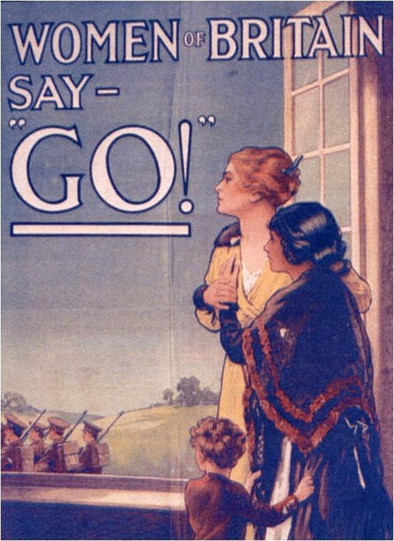 War Propaganda WW1: Women of Britain | Library posters ...