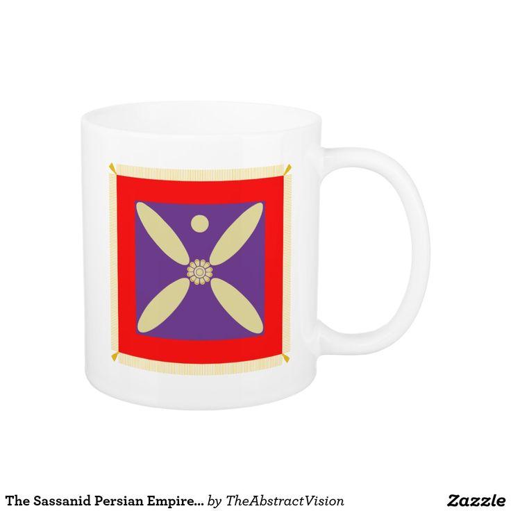 The Sassanid Persian Empire Flag Mug.