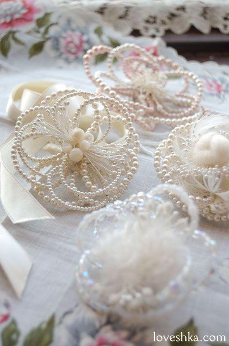 ヘッドドレス / パール / ウェディング / 結婚式 / wedding / オリジナルウェディング / プティラブーシュカ / トキメクウェディング
