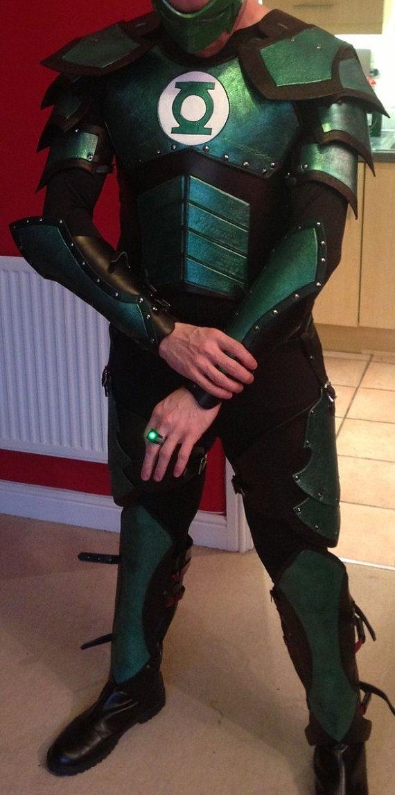 Medieval Green Lantern Armor