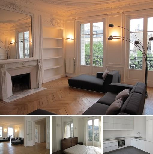 Very Beautiful And Spacious Paris Apartment Near Arc De Triomphe For Long Term  Rent. This Is A Great Apartment In A Great Place Of The French Capital.