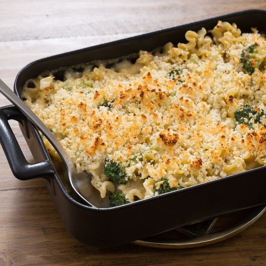Creamy Broccoli & Fennel Casserole with Mafalda Pasta & Fontina Cheese | Blue Apron