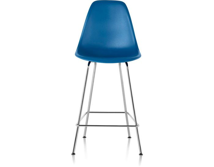 Charles & Ray Eames Molded Plastic Stool for Herman Miller