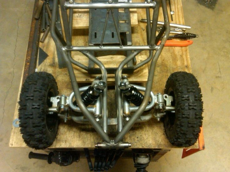 how to build a pedal go kart from scratch