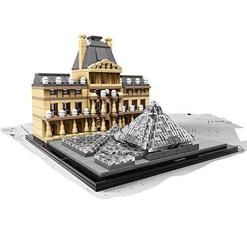 LEGO Architecture Louvre Learning Building Kit Christmas Gift Special One Toys  #LEGO