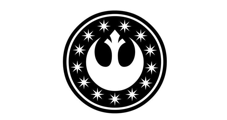 Star Wars New Republic Decal, Star Wars Car Decal, Star Wars Vinyl Decal, Star Wars, New Republic, Jedi Sticker, Star Wars Endor, Laptop by vinylology on Etsy https://www.etsy.com/listing/231783511/star-wars-new-republic-decal-star-wars