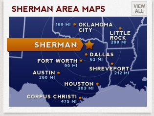 Sherman Economic Development/SEDCO-Since its inception, the Sherman Economic Development Corporation (SEDCO) has focused on a mission and strategy to grow the primary employment sector - those companies with statewide, national and international markets. The Sherman City Council approved a new SEDCO Plan of Work that will be a guide for development, redevelopment and community enhancement in Sherman and the surrounding area.