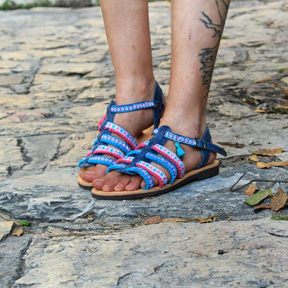 Gladiator Sandals, Greek Leather Sandals, Boho sandals
