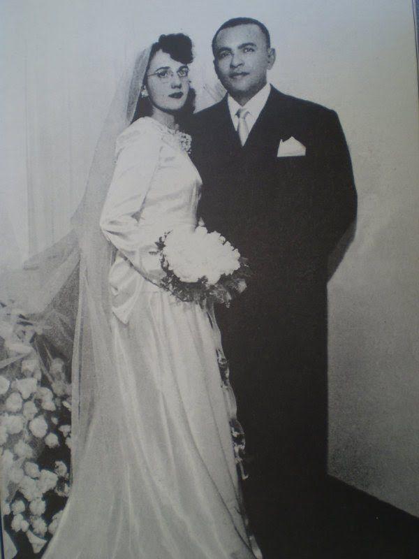 Casamento de Luiz Gonzaga e Helena das Neves Cavalcante.