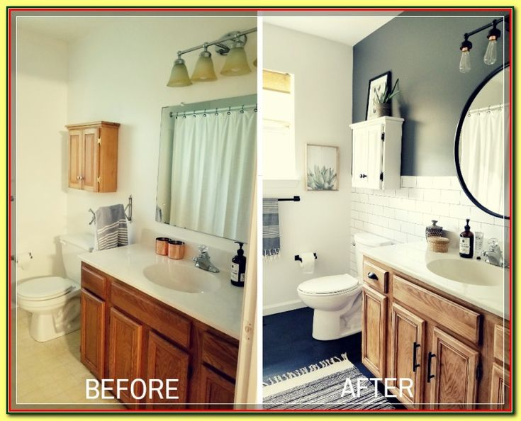 11 Bathroom Remodel Under 500 Youtube Some Good Ideas Budget Faux Brick Shmear Diy Bathroom Remodel Diy Bathroom Makeover Bathrooms Remodel