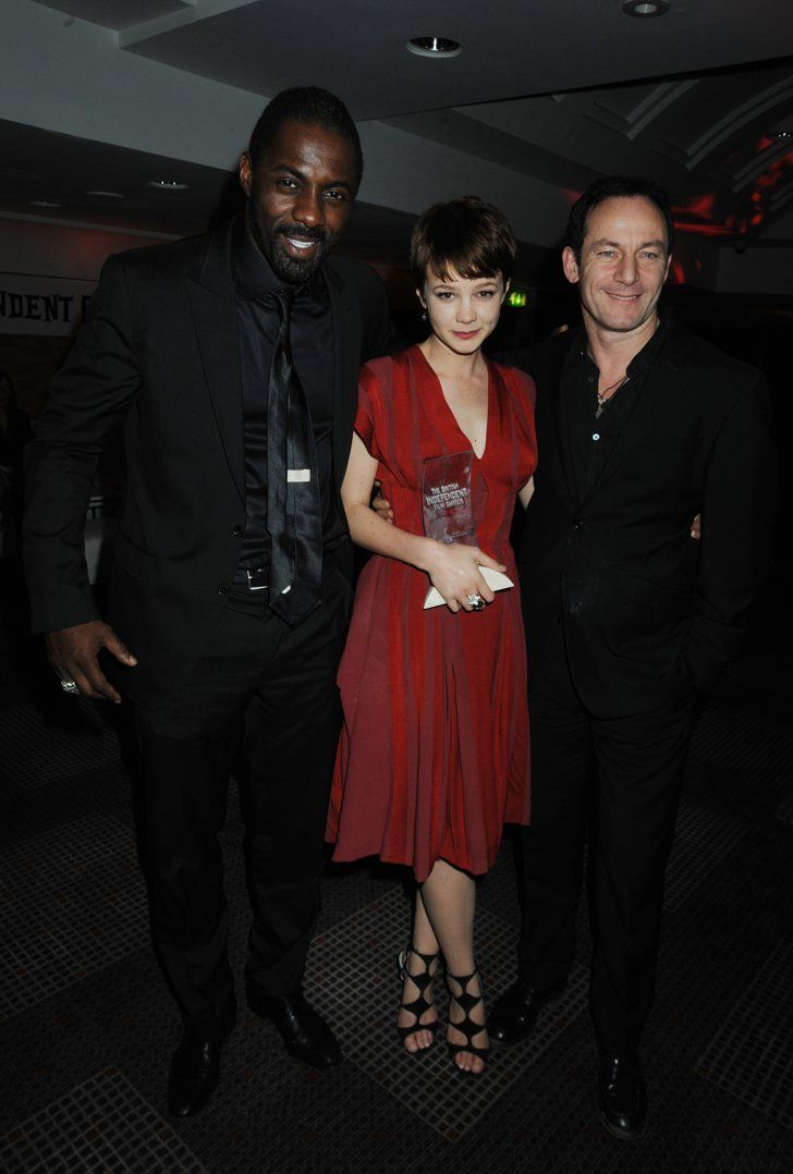 Pin for Later: Everyone Wants a Piece of Idris Elba With Carey Mulligan and Jason Isaacs