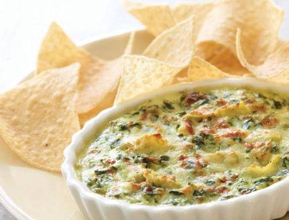 Delicious Recipes: Copycat Applebee's Hot Artichoke and Spinach Dip