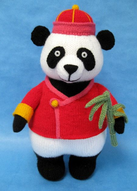 Alan dart knitting asian panda