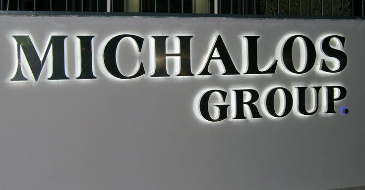 3D Inox Mirror Letters with LED