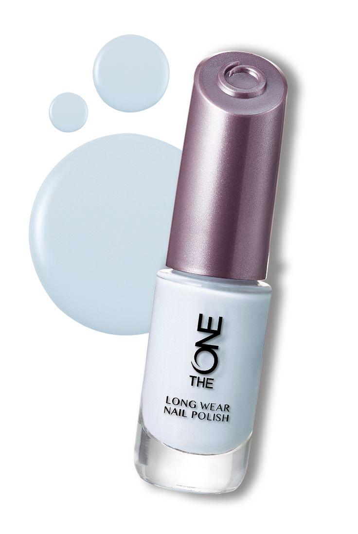 The ONE Long Wear Nail Polish-Sea Salt #Nails #Oriflame