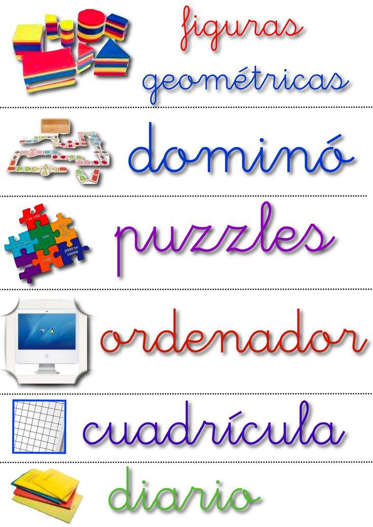letrero materiales colegio - Buscar con Google