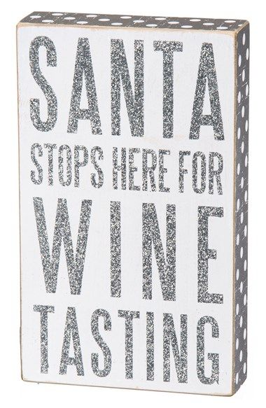 where can i buy shoes for cheap Santa stops here for wine tasting