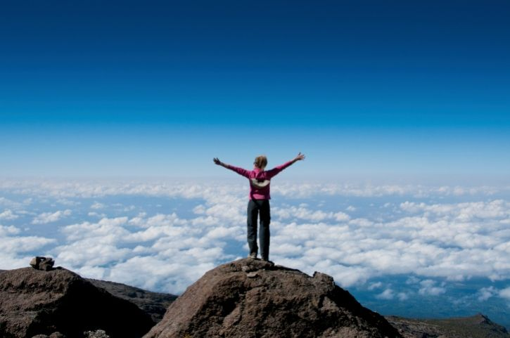 Kilimandscharo Besteigung - Gipfel - Tansania
