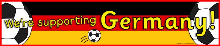 Germany football/soccer display banners