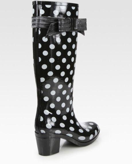 1000  ideas about Polka Dot Rain Boots on Pinterest | Rain boots