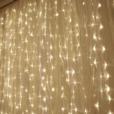 18ft X 9ft 600 Sequential White Led Lights Big