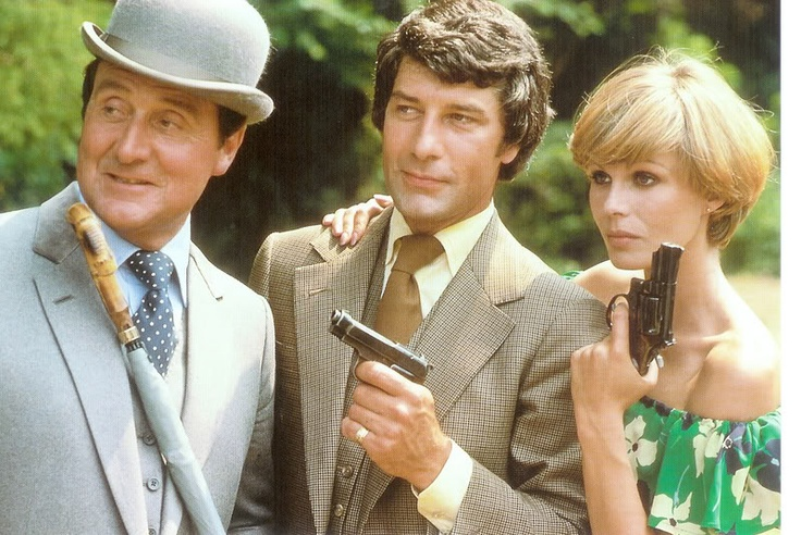 Steed gambit purdey my childhood pinterest seasons the 70s and the o 39 jays - Chapeau melon et bottes de cuir purdey ...