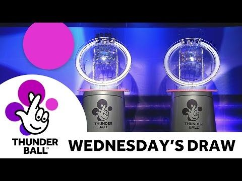 The National Lottery 'Thunderball' draw results from Wednesday 12th October 2016 - (More info on: http://1-W-W.COM/lottery/the-national-lottery-thunderball-draw-results-from-wednesday-12th-october-2016/)