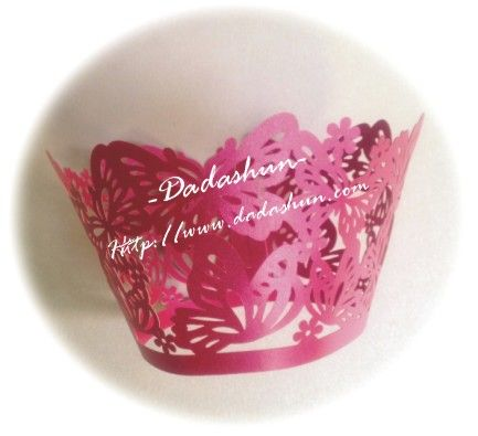 Британский стиль бумага вокруг края пирога изобразительного искусства свадебный торт чашки вокруг края пирога вокруг края чашки 12 / Pack - ...