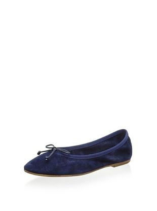 67% OFF Patricia Green Women's Paloma Flat (Navy)
