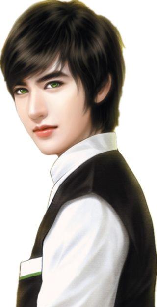 是的我看到了月采集到现代立绘 Boy Chinese Art Pinterest Korean Men