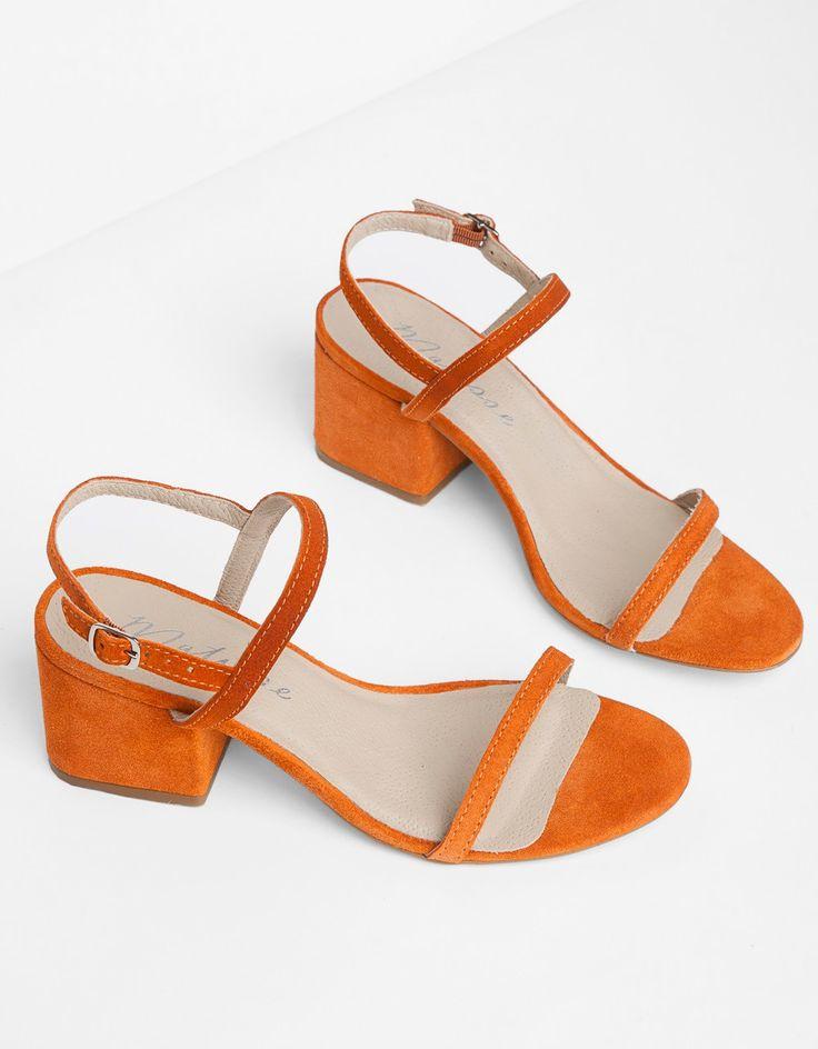 Tangerine Sandals by Matisse