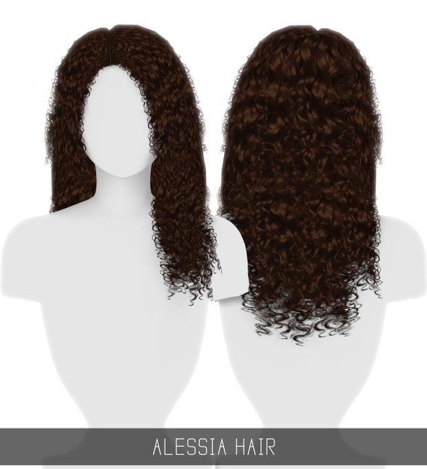 Curly Hair Download Sims 4 Cc: Simpliciaty Is Creating Custom Content