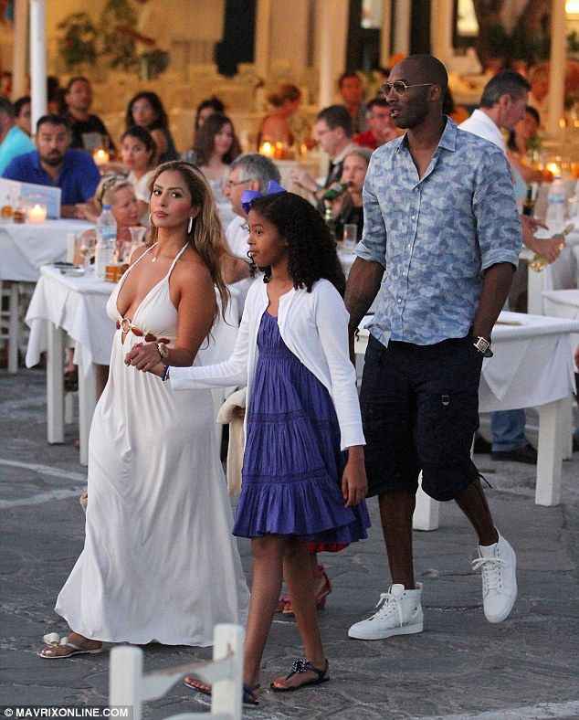 Kobe Bryant in Vacationing Mykonos With His Wife and Children  SEE MORE HERE: http://www.newzzcafe.net/2014/06/kobe-bryant-in-vacationing-mykonos-with.html