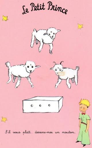 Moutons de Le Petit Prince