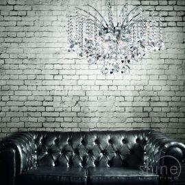 Lampa wisząca AUDI-77 SP8 (020556) Ideal Lux