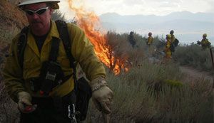 Kestrel Weather & Environmental Meters for wildland firefighting.