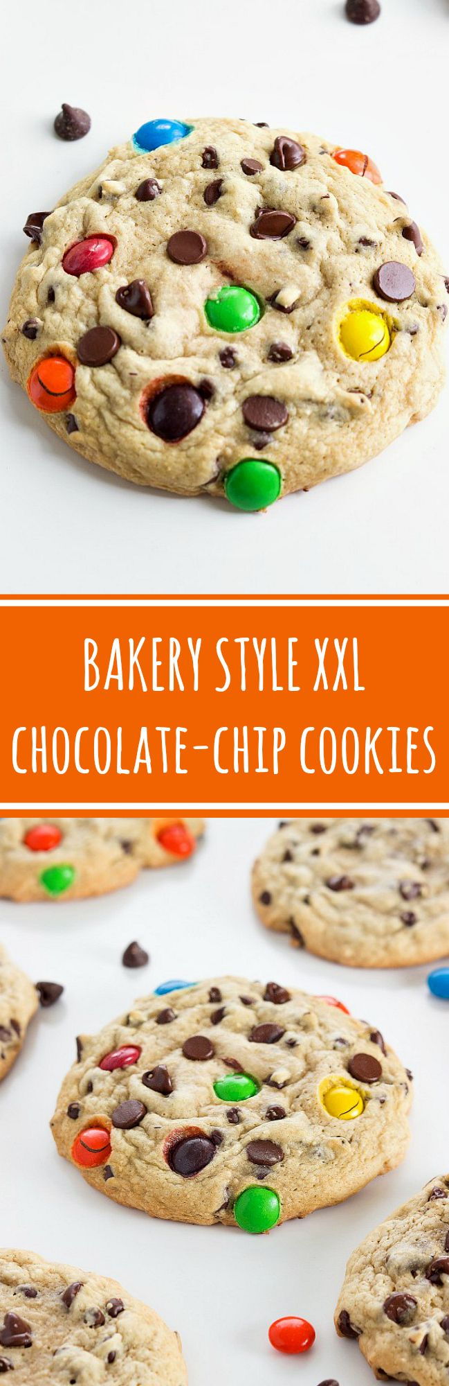 {Secret Ingredient} Bakery-Style Chocolate Chip Cookies - the secret is oat flour and cream of tartar.