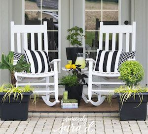 Create A Patio Oasis: With Guest Blogger, Sara D. And The Southern Living