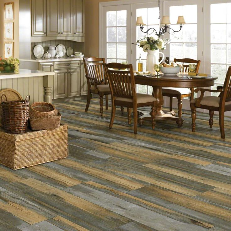 If you love the look of hardwood flooring, but don't want