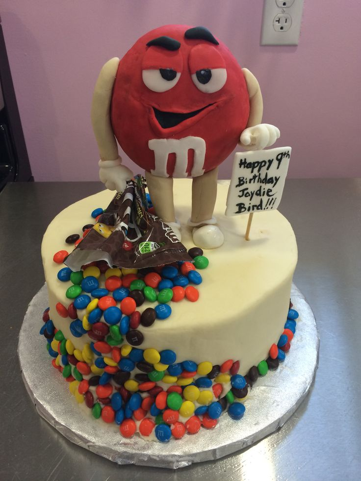 273 best images about Cake ideas on Pinterest   M m cake ...