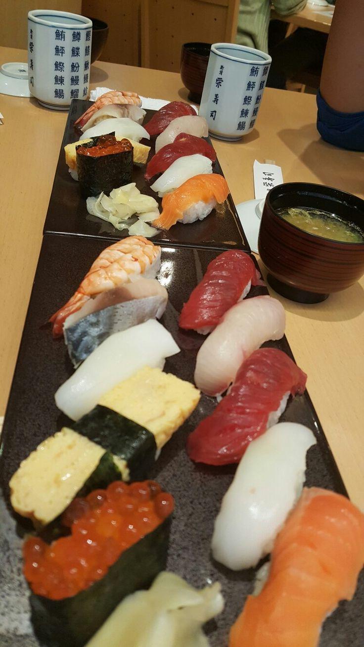 Sushi at Shinjuku
