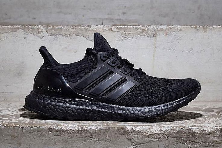 """adidas' Ultra Boost Receives a Highly Anticipated """"Triple Black"""" Makeover"""