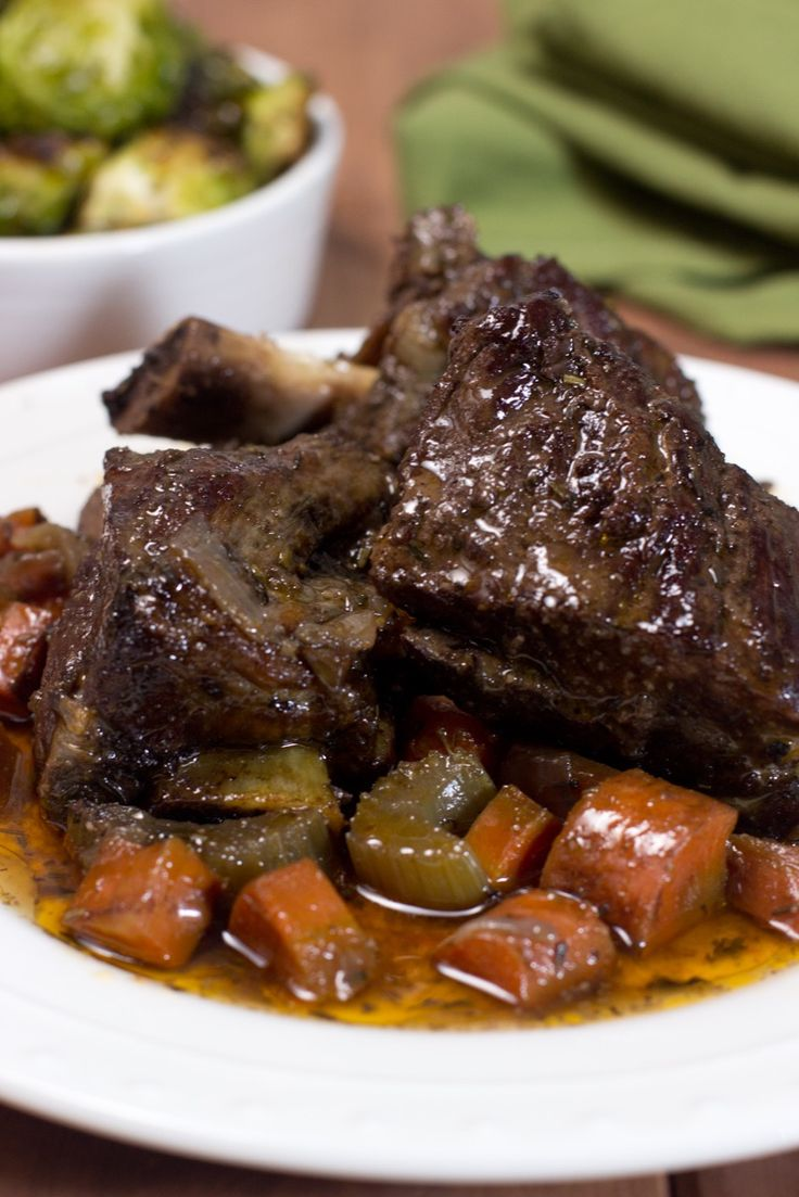 Braised short ribs, Short ribs and Ribs on Pinterest