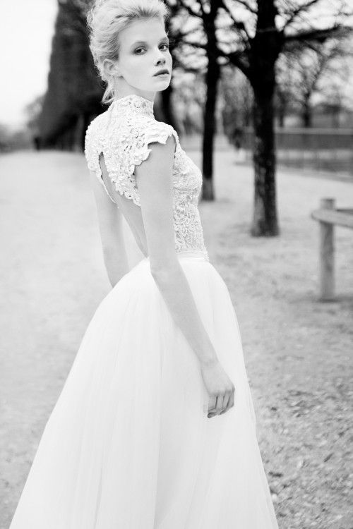 AMORE (Beauty + Fashion): ❣ WEDDING BELL WEDNESDAY ❣- BERTA Bridal 2013 Collection