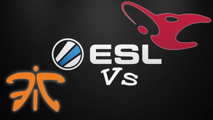 Fnatic vs Mouz ESL Bo1 Match - Overpass - 11.11.2015