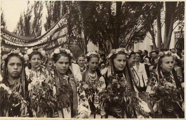 Горловка, 1954 год