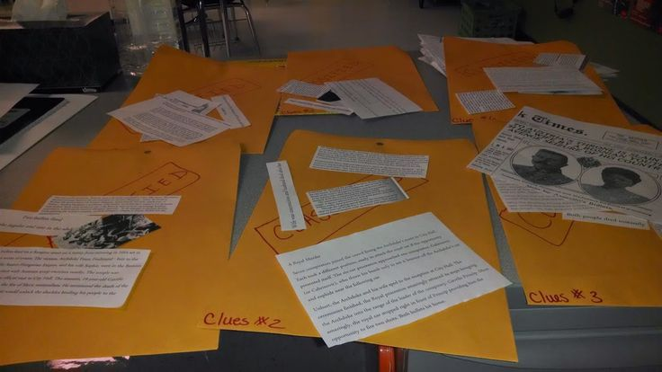 Confessions of a Crafty Middle School Teacher: Who Dun It? - Murder Mystery Activity