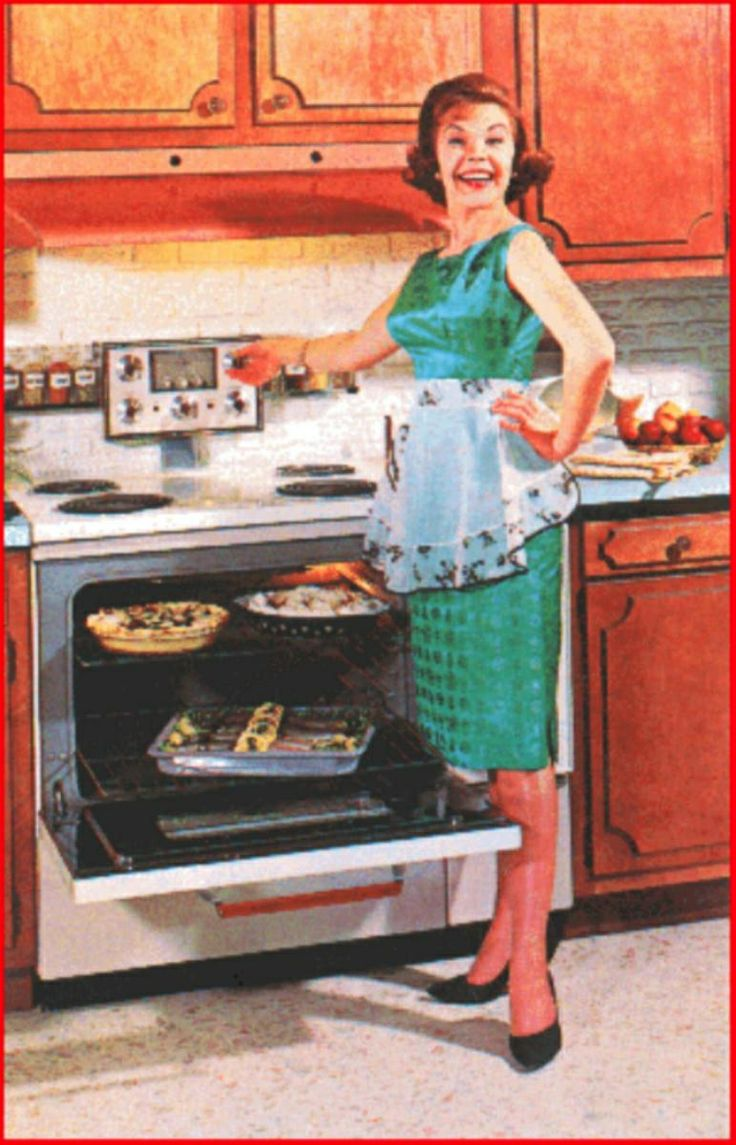 This Picture Is Suggesting That A Women S Place In The Kitchen 50s
