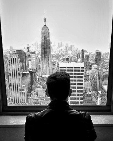Vom Rockefeller Center in New York lassen uns  David Dethlefs  und seine Simone...