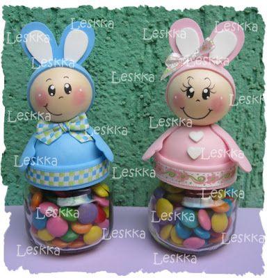 Leskka - Art eva: conigli e moldinho!